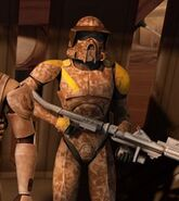Phase 1 Desert Camo ARF Scout Trooper