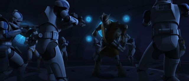 File:501st troopers arrest Krell.jpg