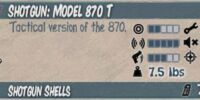Model 870 T