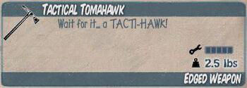 TacticalTomahawk