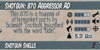 870 Aggressor AD