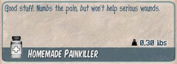 Homemade painkiller