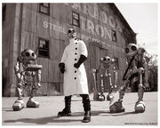 Dr. Steel Robot Band