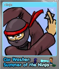 Car Washer Summer of the Ninja Foil 6