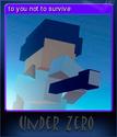 Under Zero Card 2