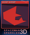 Spaceman Sparkles 3D Card 5