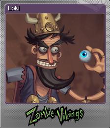 Zombie Vikings Foil 4