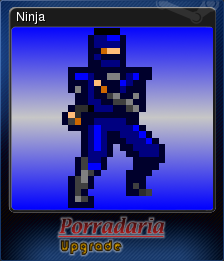 Porradaria Upgrade Card 1