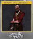 Zombies on a Plane Foil 4