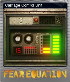 Fear Equation Foil 10