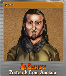 Al Emmo's Postcards from Anozira Foil 3