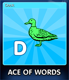 Ace Of Words Card 4