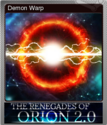 The Renegades of Orion 2.0 Foil 2