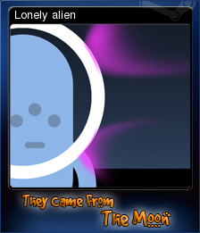 They Came From The Moon Card 7