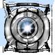 Portal 2 Badge Foil