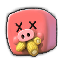Fat Chicken Emoticon DeadMeat