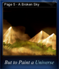 But to Paint a Universe Card 08