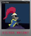 Silver Knight Foil 1
