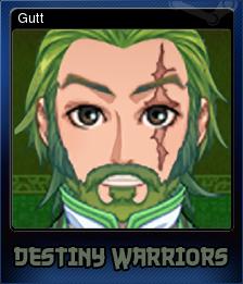 Destiny Warriors RPG Card 2