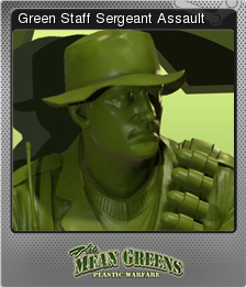 The Mean Greens - Plastic Warfare Foil 05