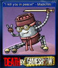 Death by Game Show Card 1