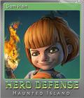 Hero Defense - Haunted Island Foil 6