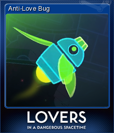 Lovers in a Dangerous Spacetime Card 1