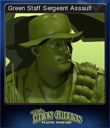 The Mean Greens - Plastic Warfare Card 05