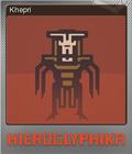 Hieroglyphika Foil 09