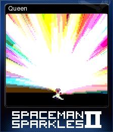 Spaceman Sparkles 2 Card 1