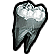 Krater Emoticon tooth