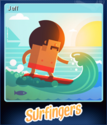 Surfingers Card 1