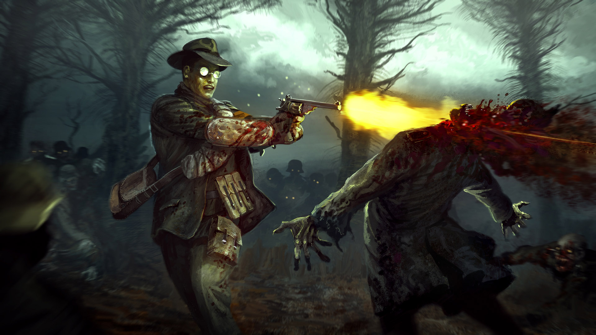 the history of the concept of the zombie While there's a long history and fascination with animated corpses in  the  concept of zombies would evolve further with the creation of the.