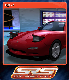 Street Racing Syndicate Card 1