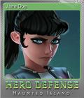 Hero Defense - Haunted Island Foil 5