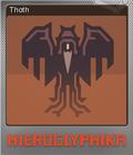 Hieroglyphika Foil 08