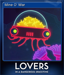Lovers in a Dangerous Spacetime Card 3