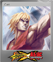 Street Fighter X Tekken Foil 6