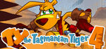 TY the Tasmanian Tiger 4 Logo