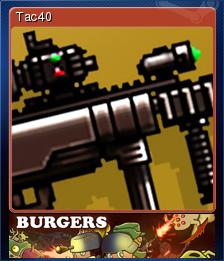 Burgers Card 09
