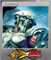Street Fighter X Tekken Foil 10