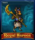 Royal Heroes Card 8