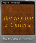 But to Paint a Universe Foil 01