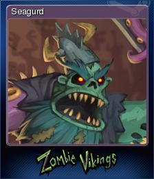 Zombie Vikings Card 5