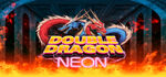 Double Dragon Neon Logo