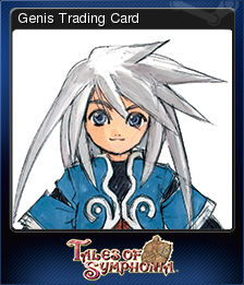 Tales of Symphonia Card 3