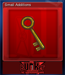 Bunker - The Underground Game Card 03