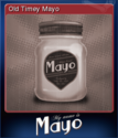 My Name is Mayo Card 1