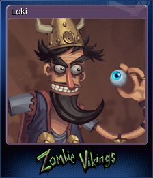 Zombie Vikings Card 4