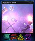 SPAZ Reactor Critical!
